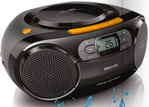 Bumbox CD MP3 Philips z Biedronki