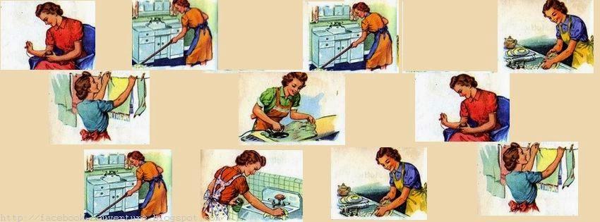 Couverture journal facebook pour femme de foyer