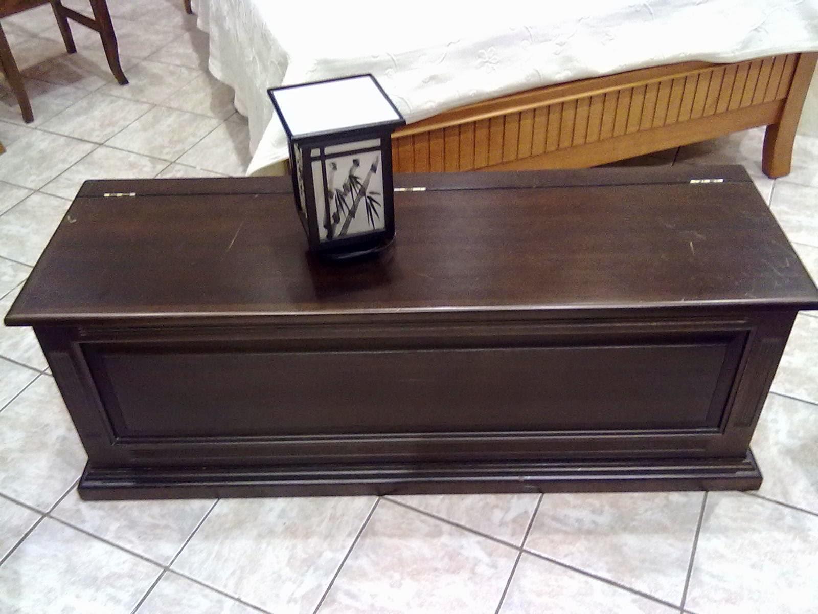 baú de madeira cor imbuia escurecida modelo 267 móveis de #8F653C 1600x1200