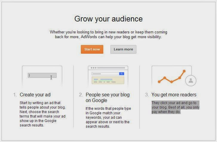 Google SEO Grow Audience Campaign Blogger BlogSpot