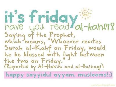 Al-Kahfi on Friday