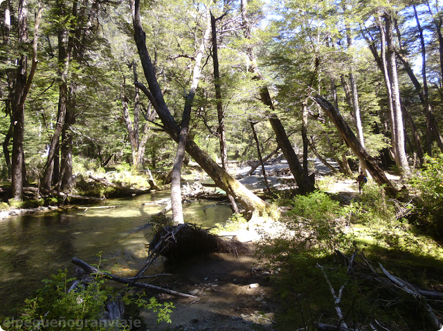 Refugios Retamal – Laguitos, El Bolsón, sendero,
