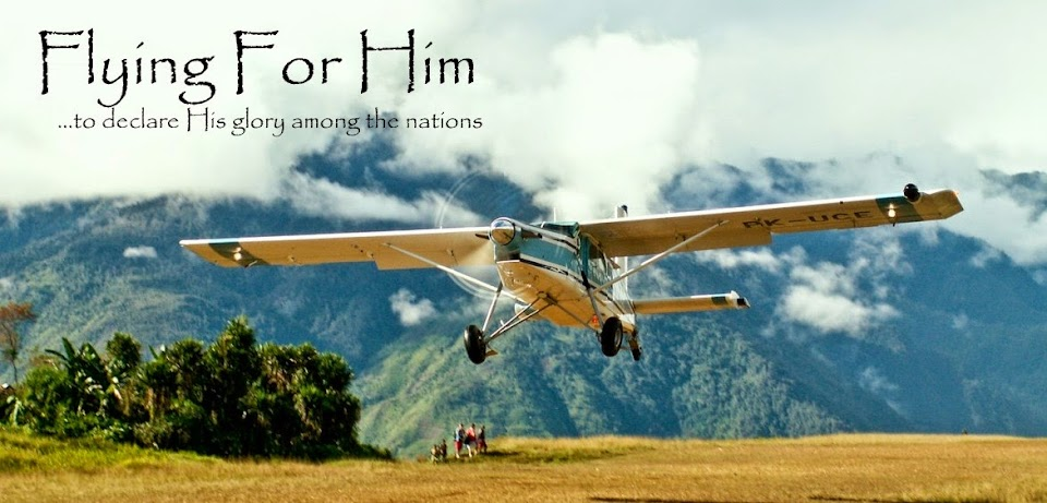 Flying for Him
