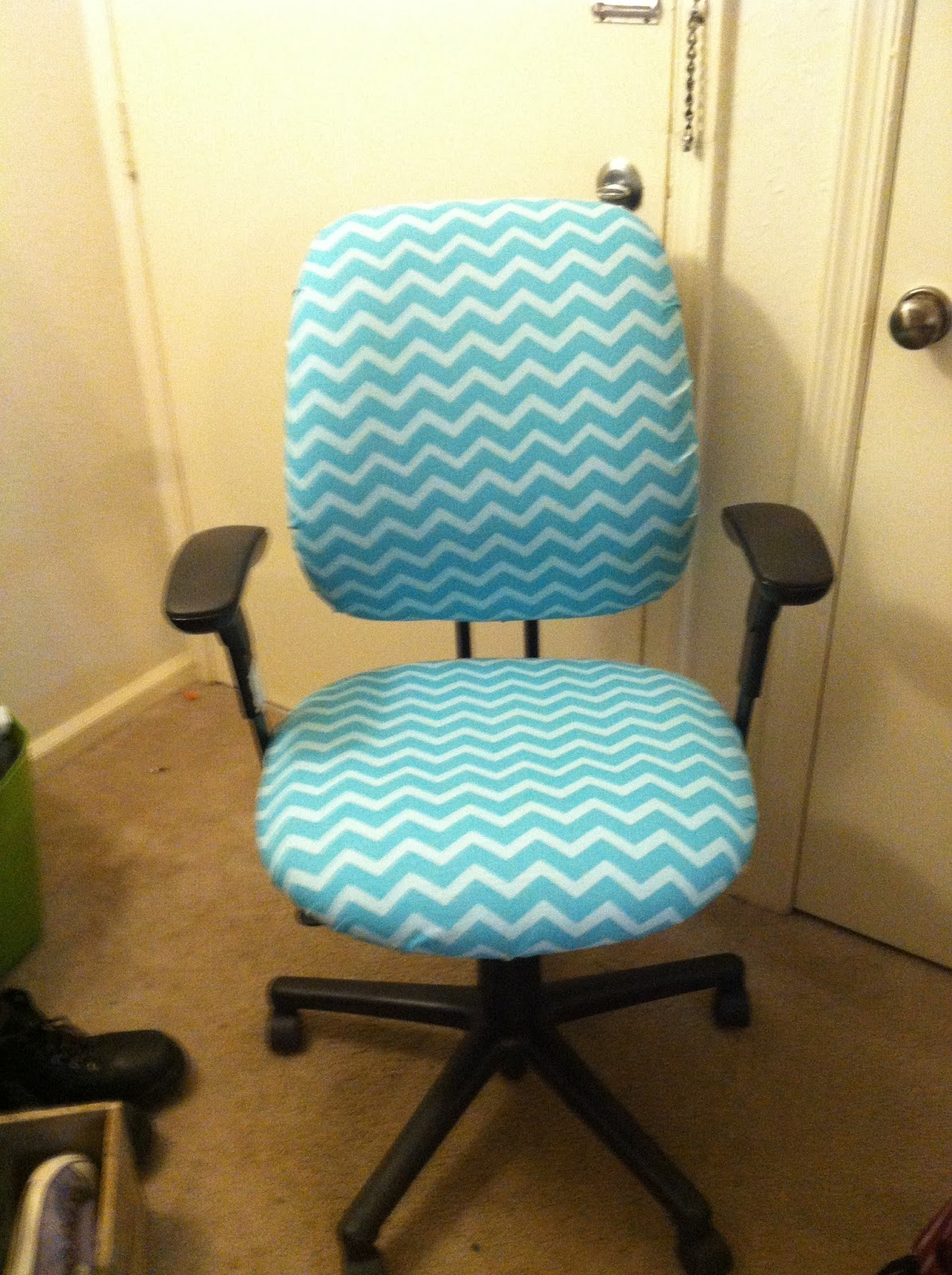 After Lovely Chevron Chair Its going to look perfect at my guided reading table