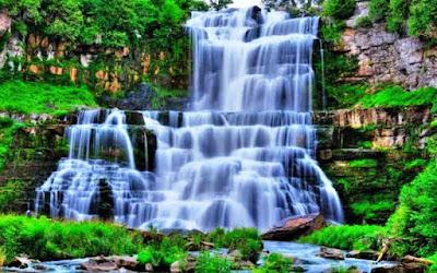 Gambar Pemandangan Alam Air Terjun Tercantik Di Dunia