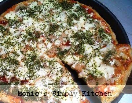 resep pizza jamur oatmeal