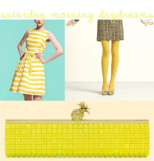 Kate Spade yellow