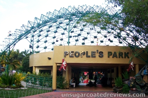 People's  Park durian dome entrance