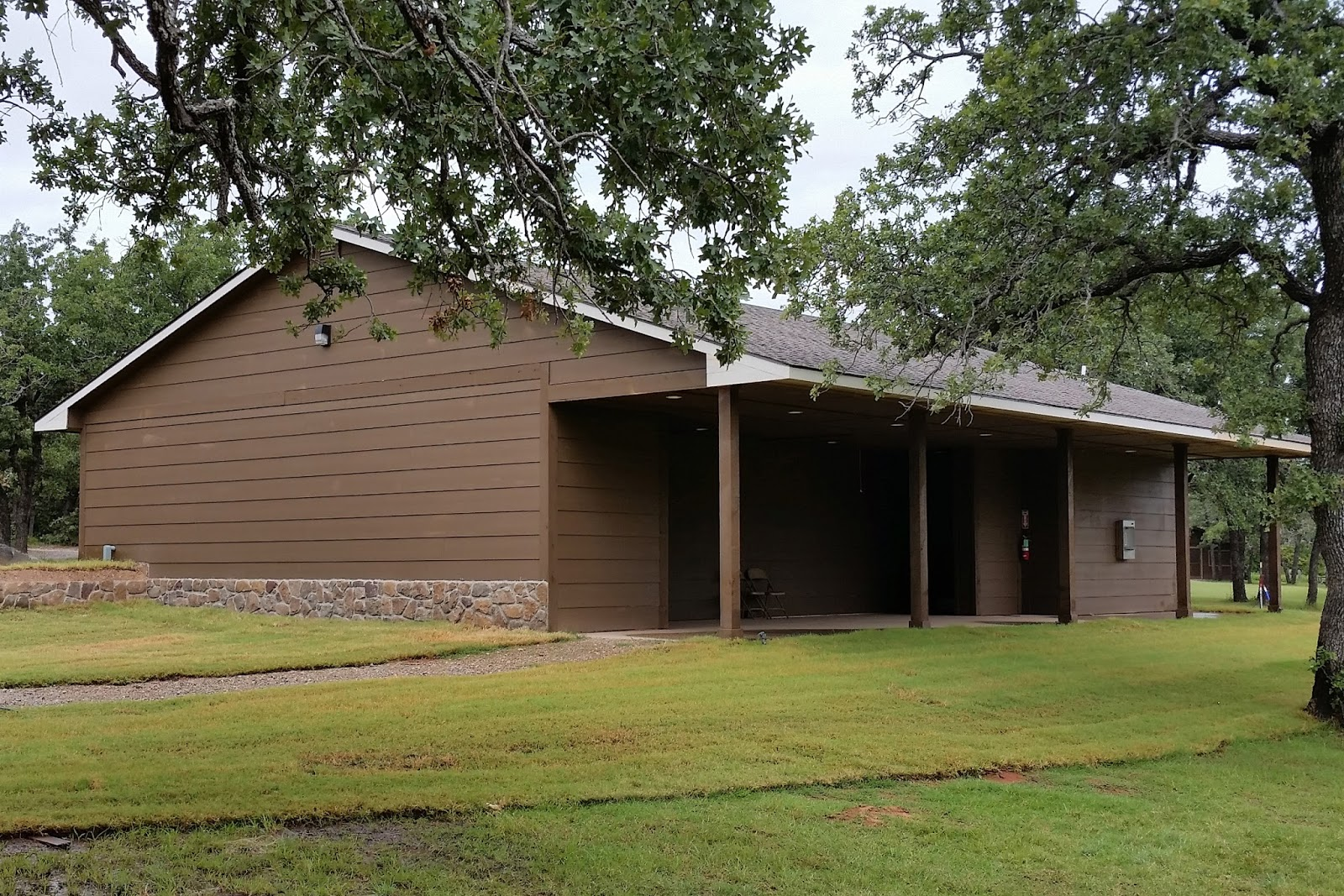 Safe Room Construction Oklahoma for Girl Scout Camp E-Ko-Wah ...