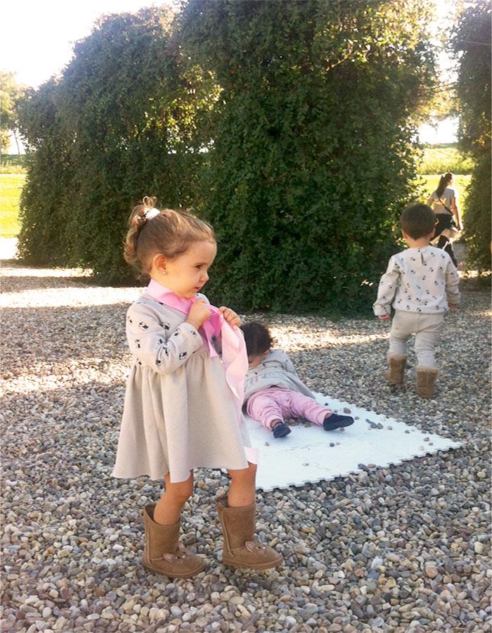 Sesion de fotos Piu Piu moda infantil handmade
