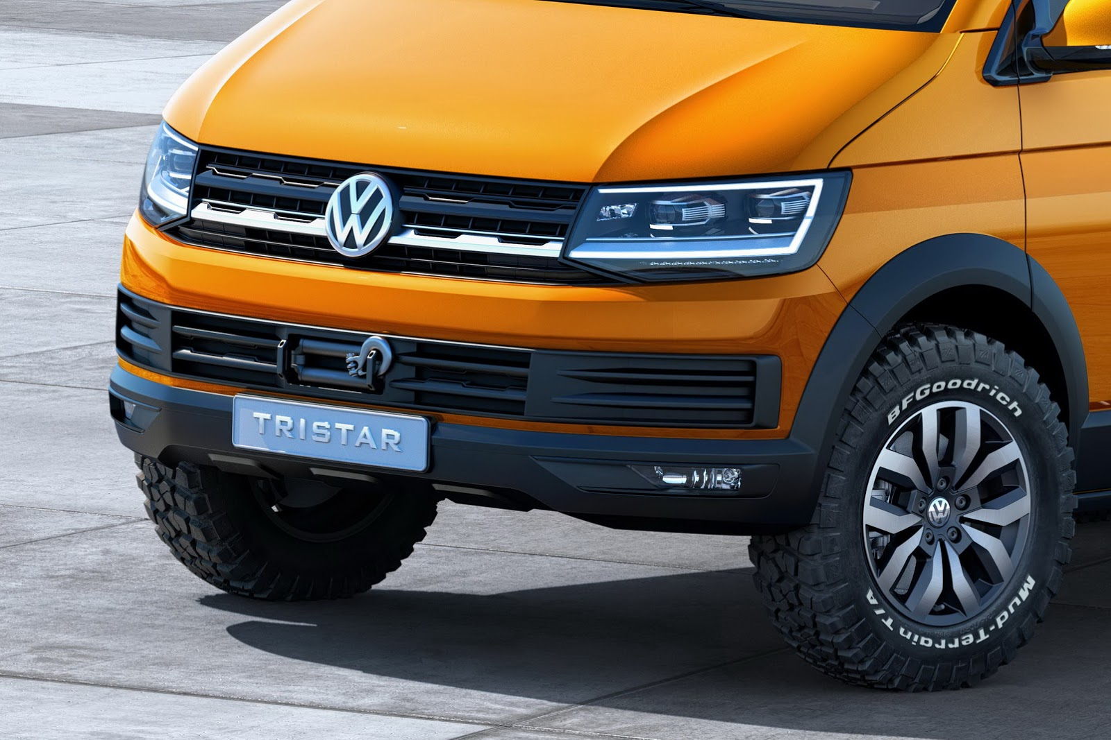 vw previews next gen t6 transporter with tristar concept. Black Bedroom Furniture Sets. Home Design Ideas