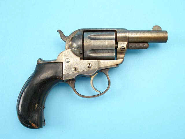 who invented the first revolver