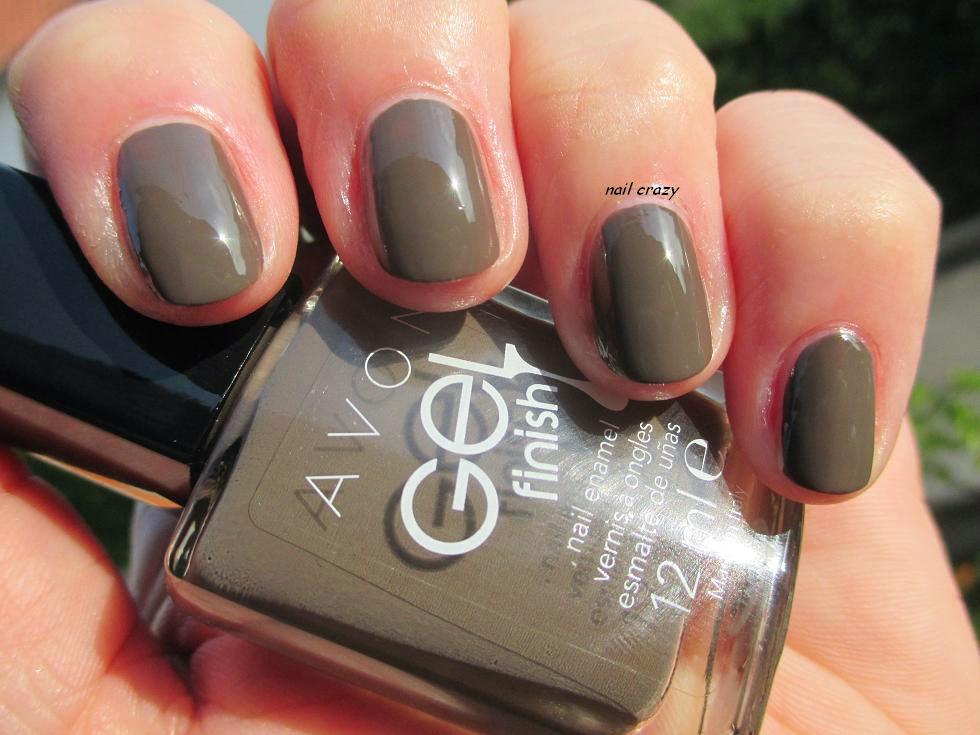Avon Matte Black Nail Polish - Creative Touch