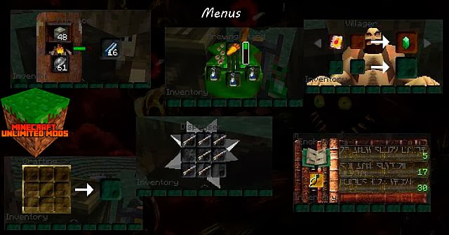 Ocarina of Time y Majora's Mask Texture Pack menus