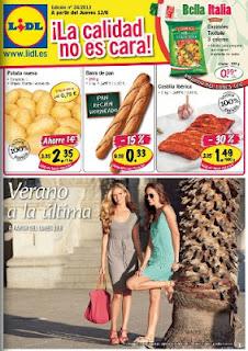 catalogo lidl del 13-6-2013
