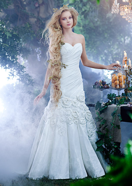 disney princess wedding dresses rapunzel