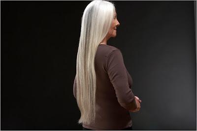 Old Lady Long Hair