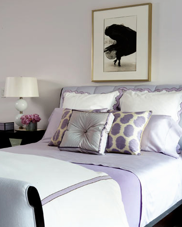 Lilac Purple Bedrooms