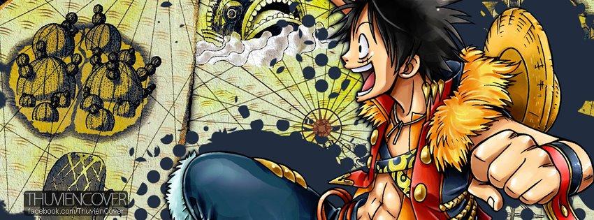 One Piece cover FB - Ảnh bìa dành cho Fan Đảo Hải Tặc