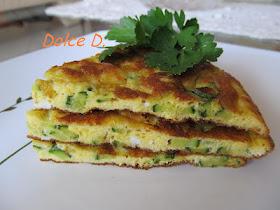 Frittatina con zucchine