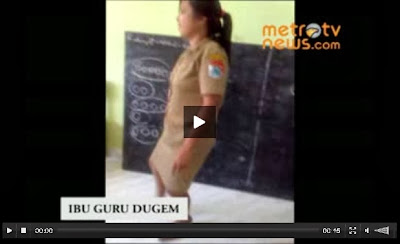 Heboh Video Dugem Guru SD di Kelas