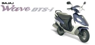 Bajaj automatic scooter