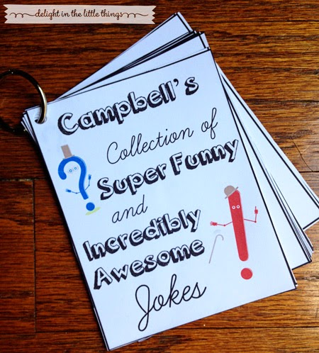 Printable Kids' Joke Book | delightinthelittlethings.com