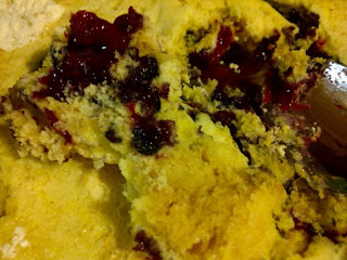 "Tri-Cities Frugal Chick: Katy: Lemon Blueberry ""Dump"" Cake"