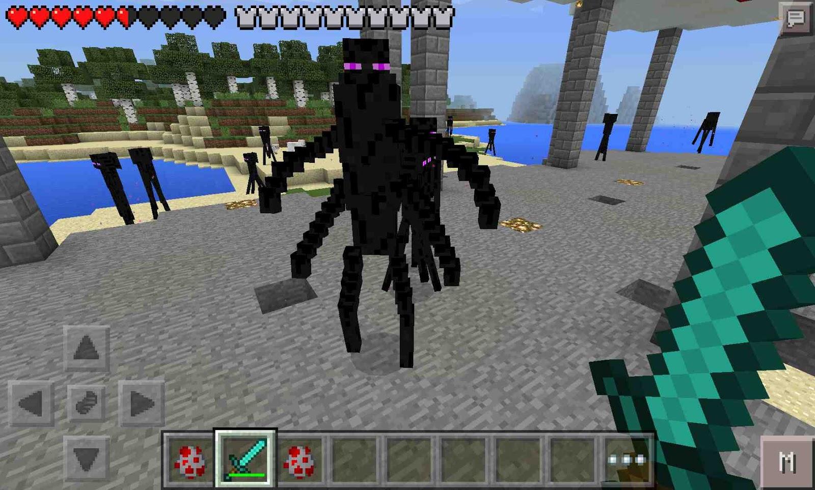 Мод TooManyItems 1.7 для Minecraft PE 61