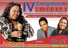UMADERJ 2014 de Riachão do Jacuípe-ba.