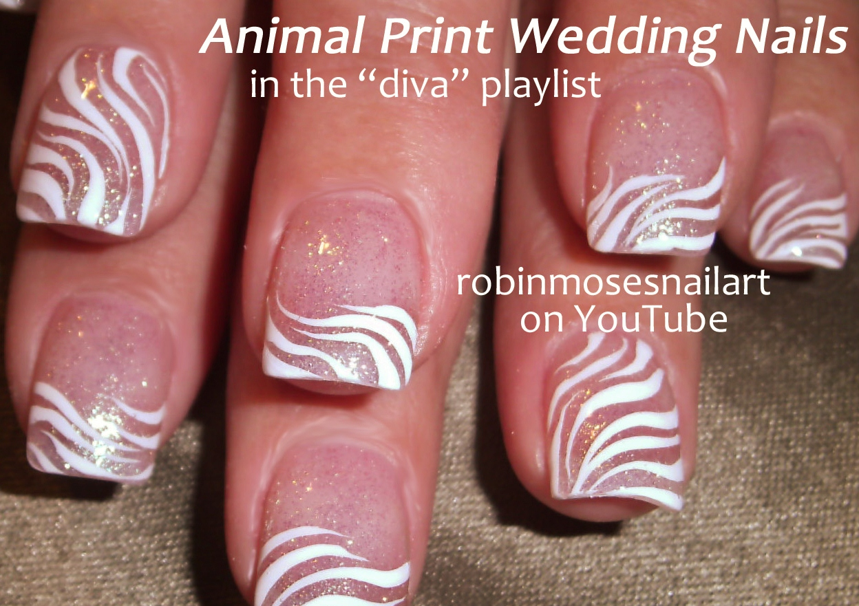 The Exciting Pink zebra print nail designs Photograph