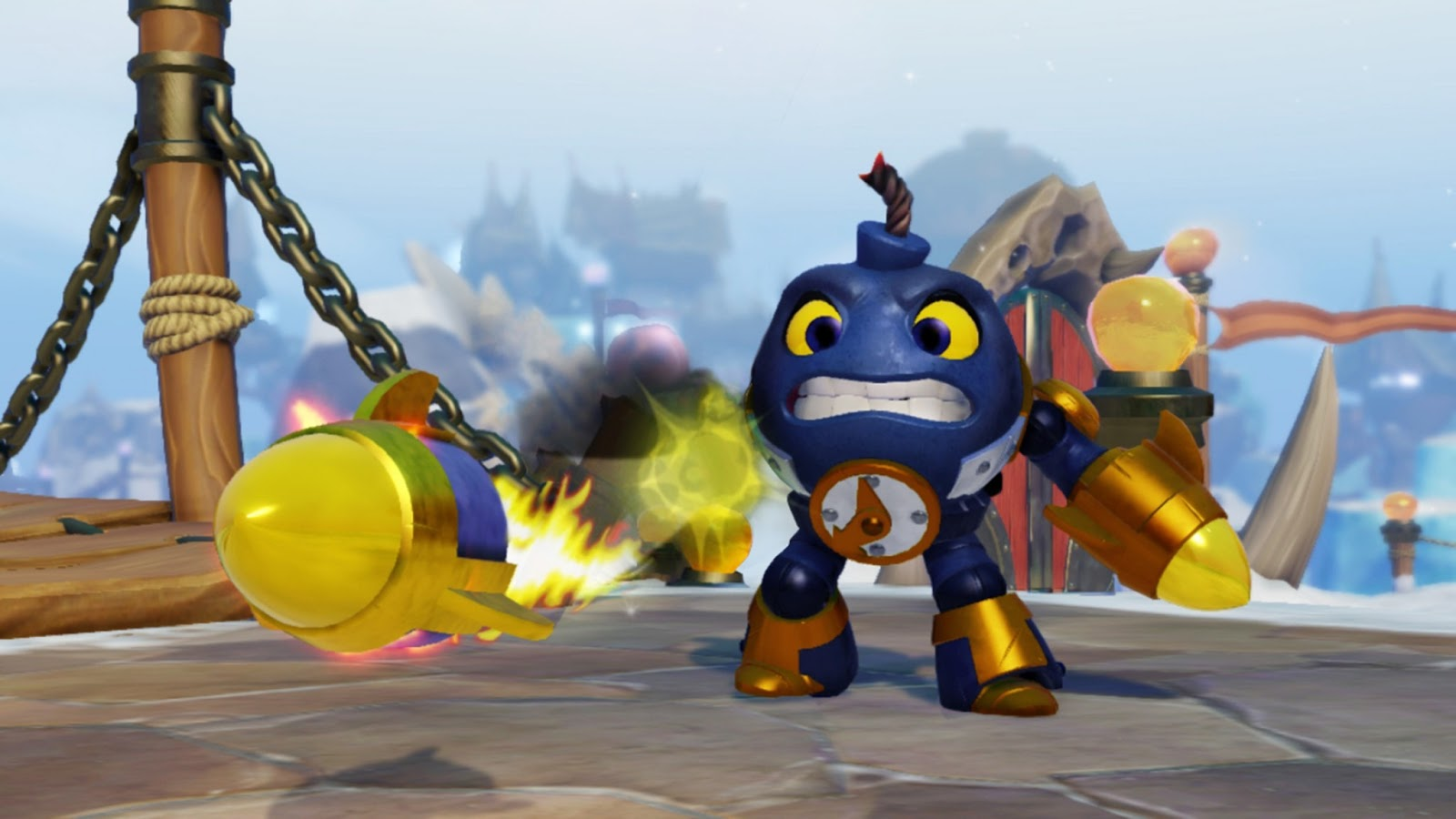 The new Skylanders swap force characters are very strong and robust