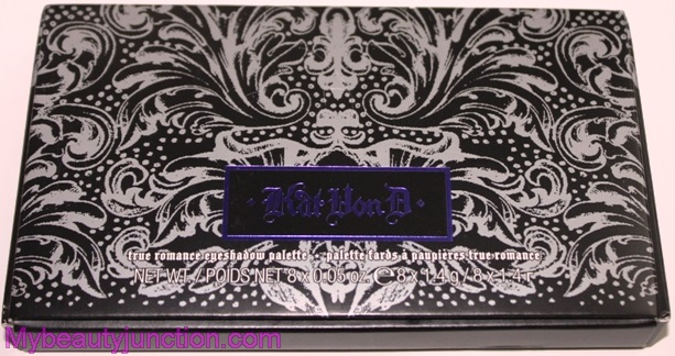 Kat von D True Romance palette in Poetica review, swatches, photos