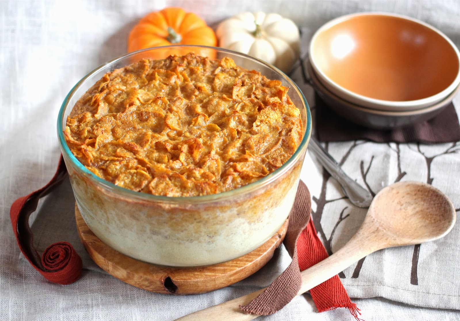 Arctic Garden Studio Pumpkin Cornflake Breakfast Pudding
