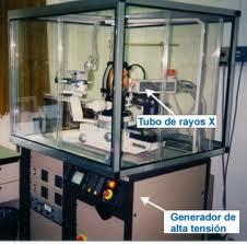 Rayos x utilización en la cristalografía