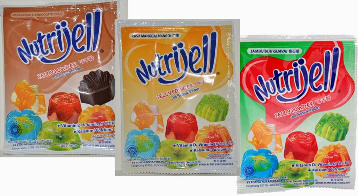 Nutrijell Powder Rasa Jeruk