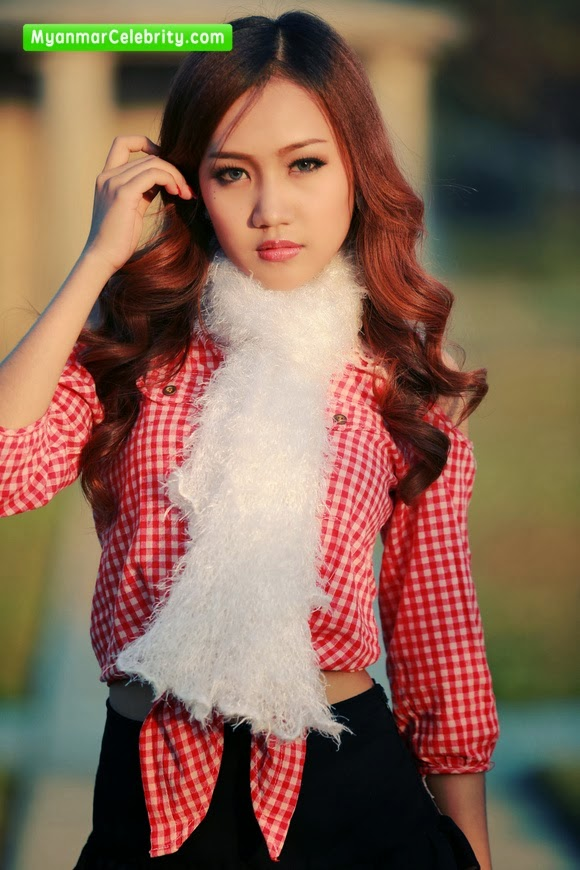 Pretty Model Nan San Dar Hla Htun