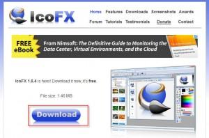 Modifikasi Icon dengan IcoFX