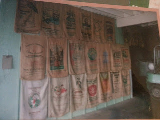 coffee burlap sacks, coffee bags