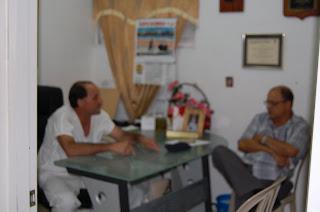 Gerente Regional de Salud Este, visita hospital de Los Llanos