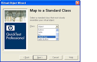 QTP Virtual Objects mapping to standard class