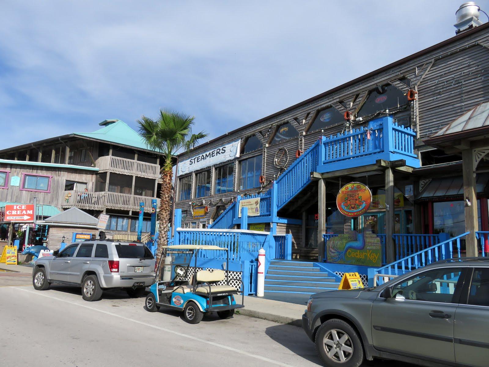 Cedar Key Florida ~ Big daddy dave steamers clam bar and grill cedar key