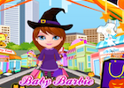 Baby Barbie Halloween Shopping