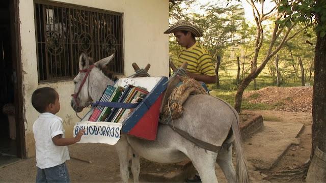 Bibliotecas móveis para difundir a leitura