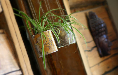 eco gifts:  revamped recyclables – planter tutorial