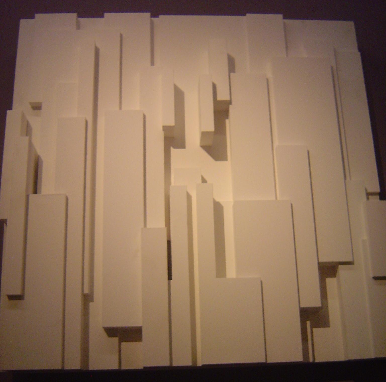 Papier peint vinyl sur expansé Relief Hublot CASTORAMA - Papier Peint Relief Blanc