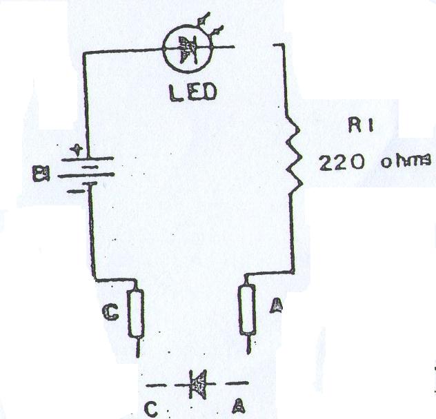 circuitos digitales en la educaci u00f3n   circuito 7  probador de diodos