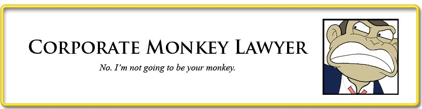 Corporate Monkey Lawyer