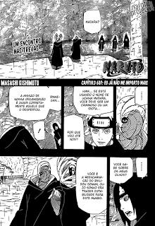 Naruto 607 Mangá Leitura Online