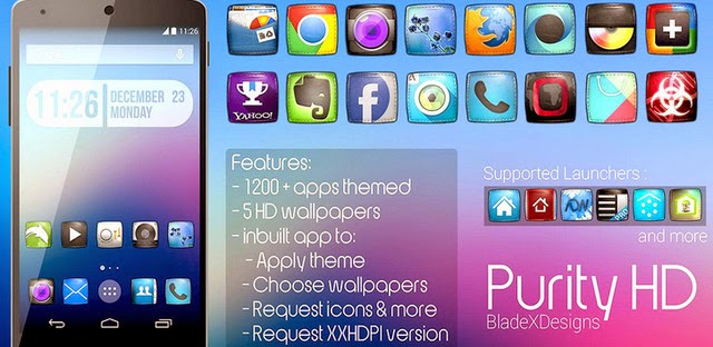 Purity(APEX NOVA GO THEME) APK